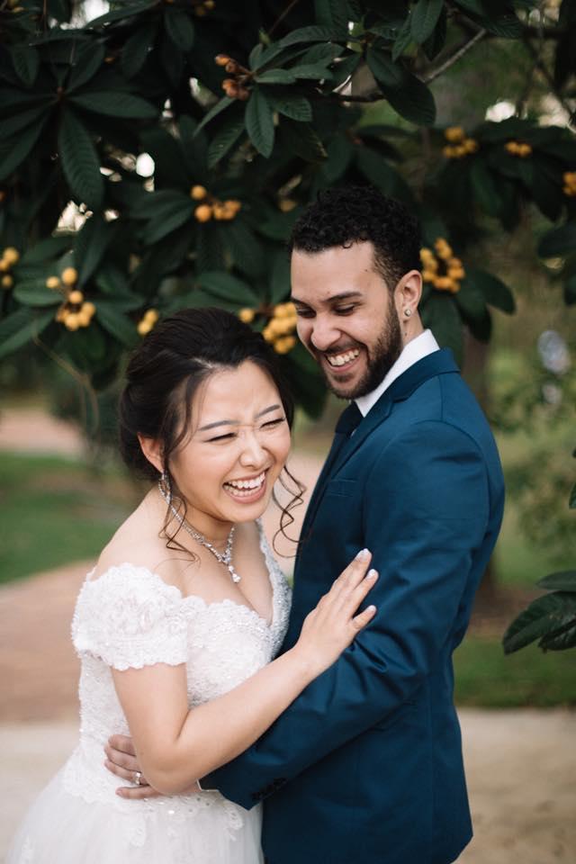 Orlando Florida Federation of Garden Clubs Romantic Wedding Couple
