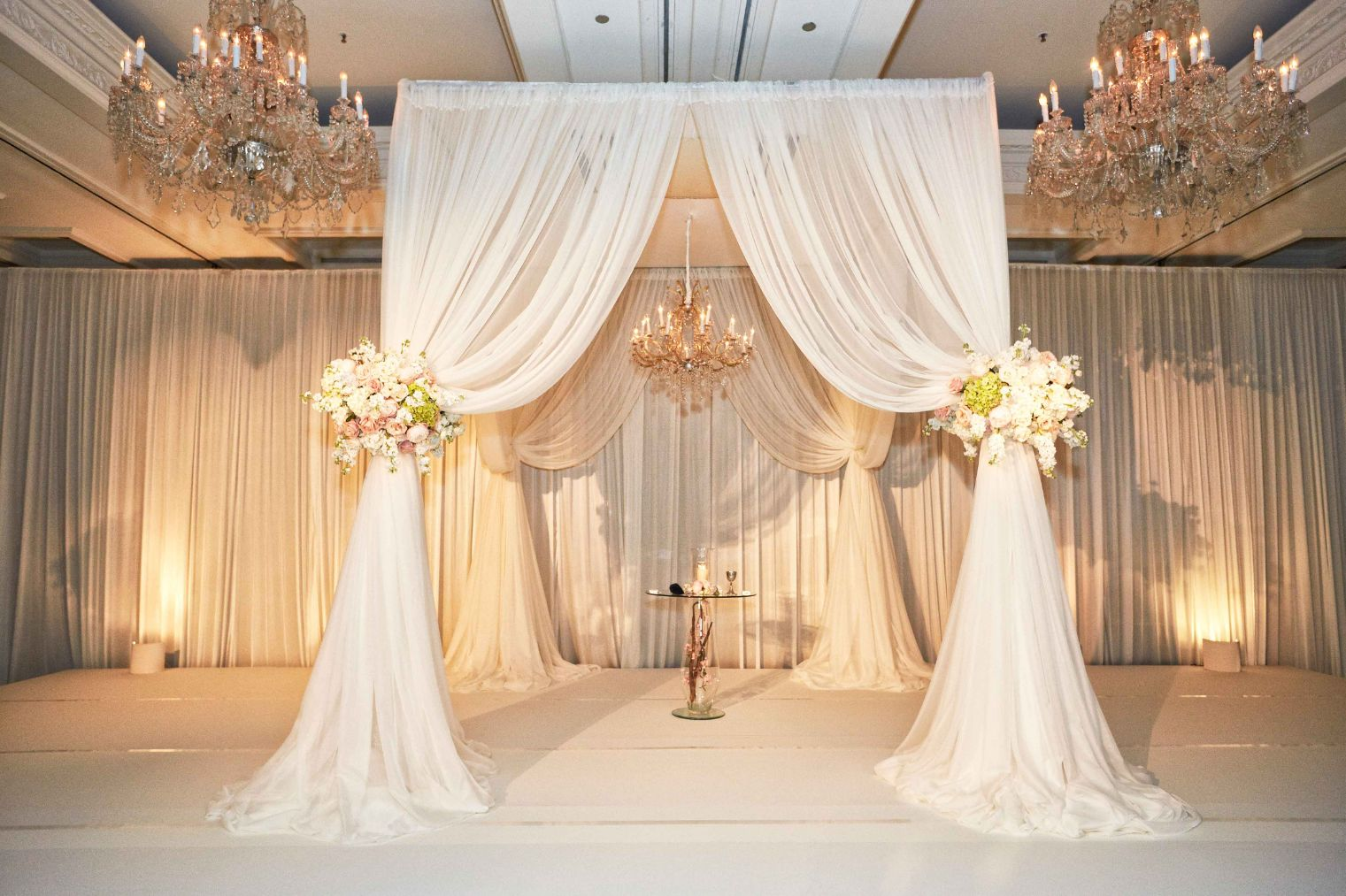 10x10 sqaure chuppah xclusive deejays winter springs florida wedding dj lighting photo booth entertainment