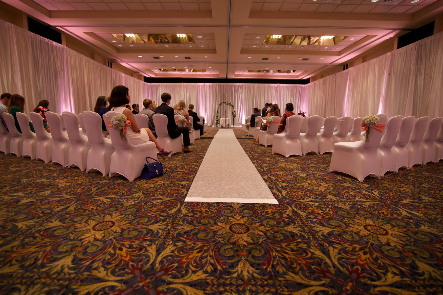 pipe drape 2 xclusive deejays winter springs florida wedding dj lighting photo booth entertainment